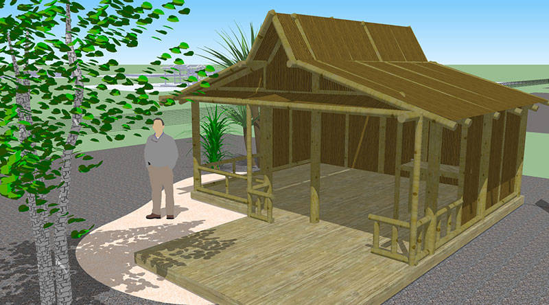 plans for beach hut